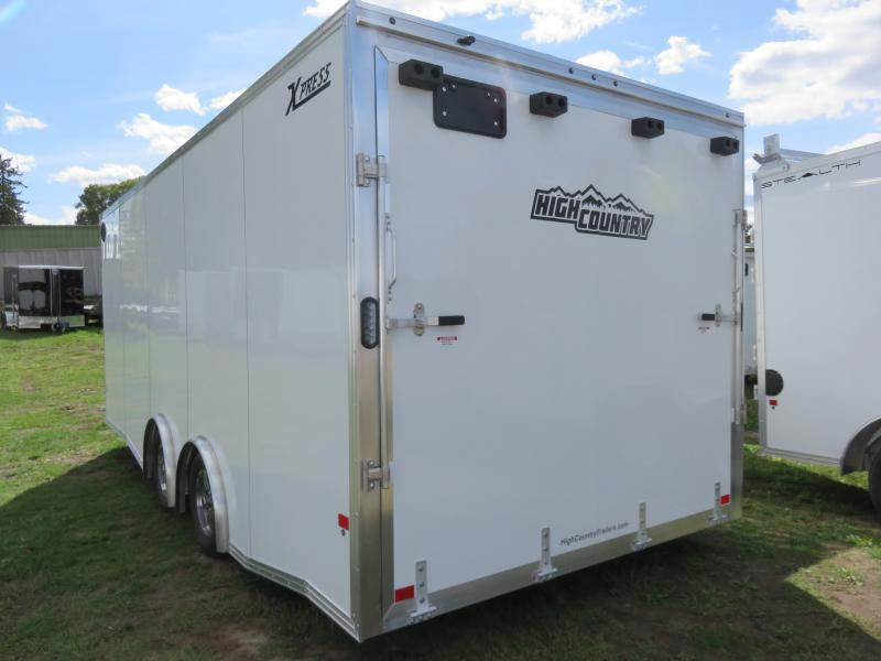 2021 ALCOM XPRESS8.5X20-UTV Enclosed Cargo Trailer