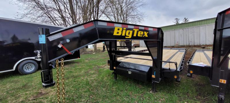 2021 Big Tex Trailers 14GN-25+5 Equipment Trailer with Mega Ramps