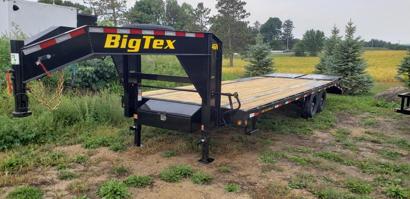 2022 Big Tex Trailers 14GN-20BK+5 Equipment Trailer with Mega Ramps