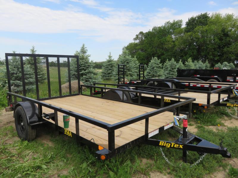 2021 Big Tex Trailers 35SA-12 7x12 Utility Trailer with ramp gate
