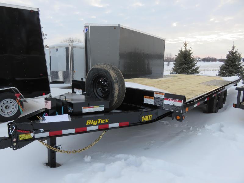 2021 Big Tex Trailers 14K Over-the-Axle Tilt 102x22 Equipment Trailer