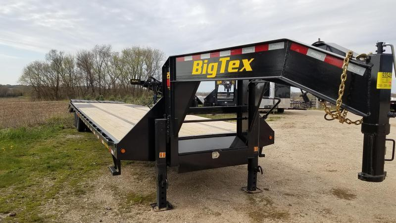 2021 Big Tex Trailers 25GN-35+5 Equipment Trailer with Mega Ramps