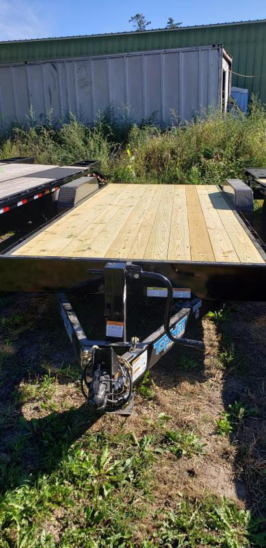 2022 Top Hat Trailers 20x83 EH 14K Utility Trailer