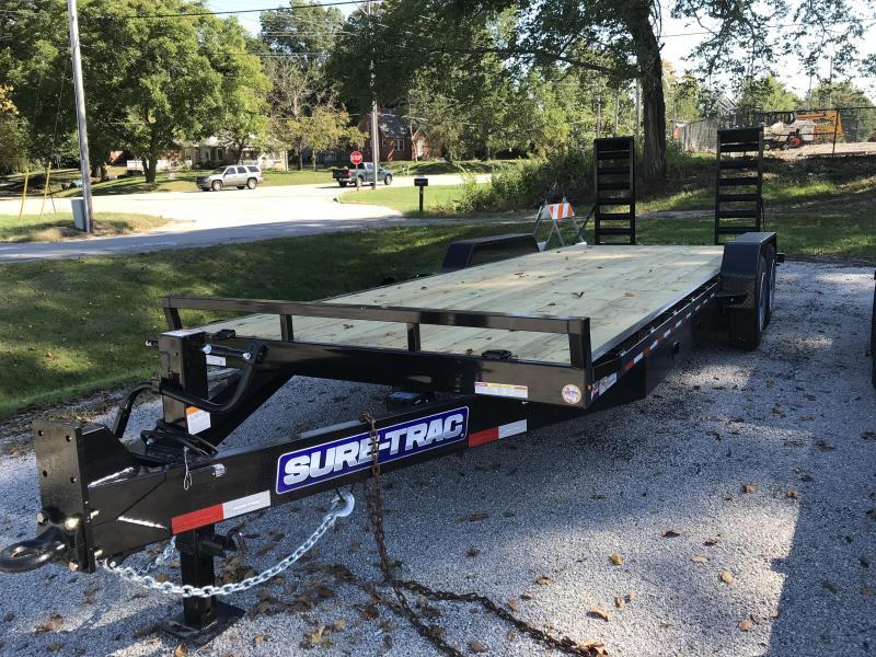 2022 Sure-Trac 7 x 22 (20+2) Equipment Trailer  16K