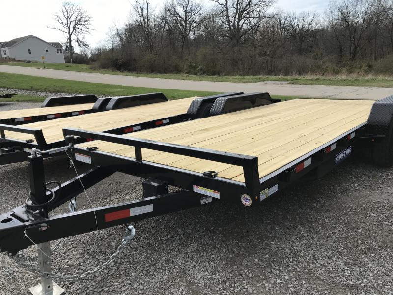 2020 Sure-Trac 7 X 20 Wood Deck Car Hauler  10k