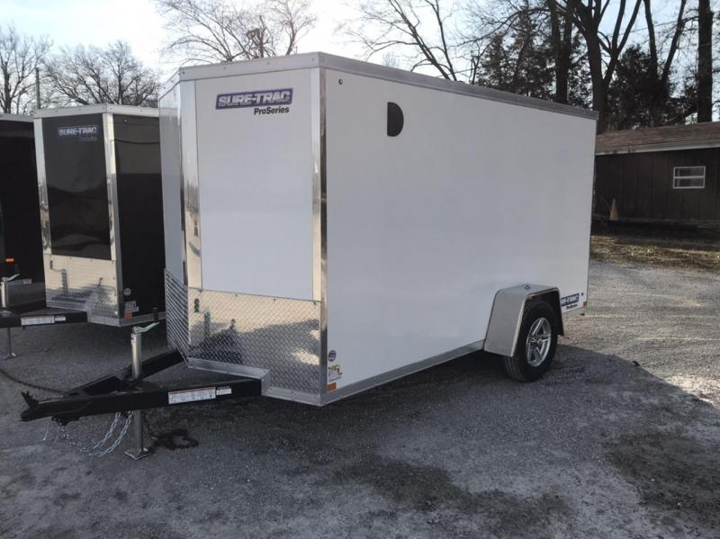 2021 Sure-Trac 6 x 12 Pro Series Enclosed Wedge Cargo T