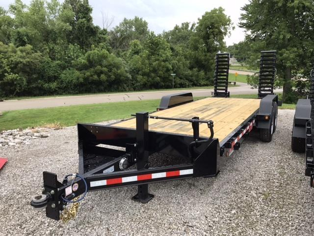 2021 B-B 83X22 Skidloader Equipment Trailer