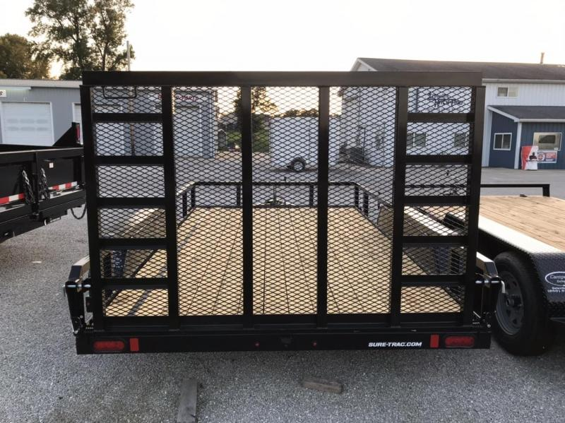 2021 Sure-Trac 7 x 12 Tube Top Utility Trailer  7K Tand