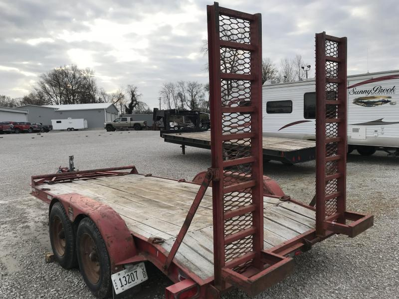 1997 Other Stigers T-5142D Equipment Trailer