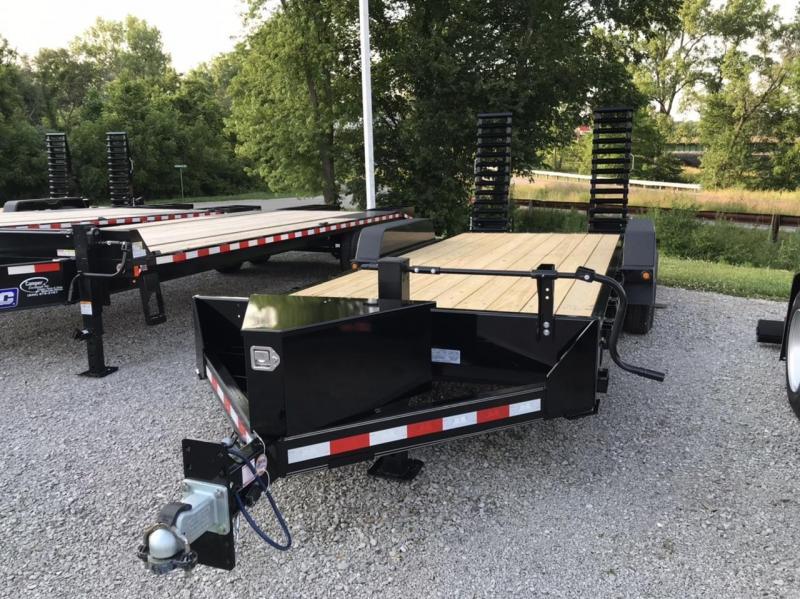 2020 B-B Channel Skidloader 20' Equipment Trailer