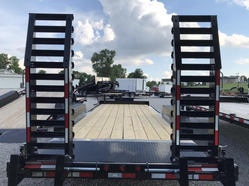 2020 B-B Channel Skidloader 20' Equipment Trailer