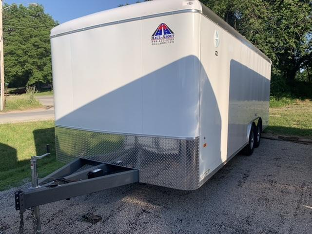 2020 Haul-About Leopard 8.5 x 20 Enclosed Cargo Trailer
