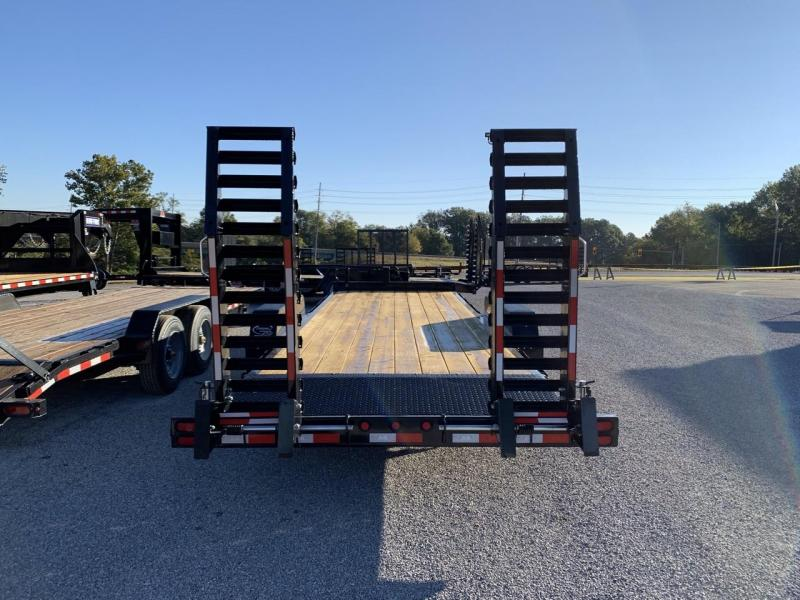2021 B-B 83x22 Skidloader Equipment Trailer