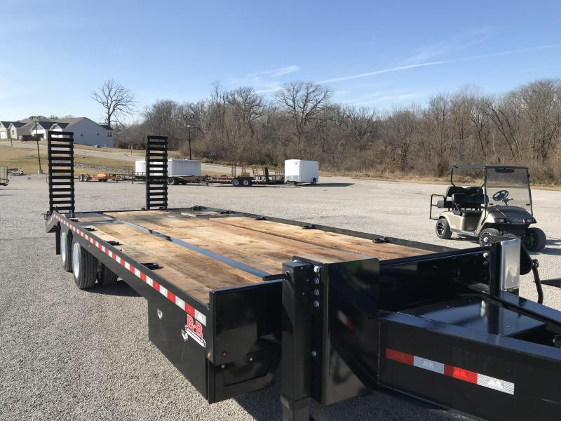 2021 B-B 102x22+5 Deckover Equipment Trailer