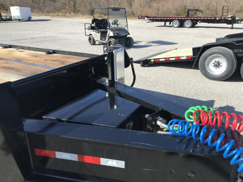 2021 B-B 102x22+5 Deckover Equipment Trailer