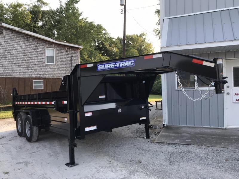 2021 Sure-Trac 82 IN X 14 LP 14K Goose Scissor Dump