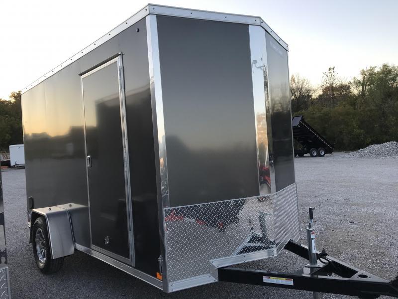 2021 Sure-Trac 6 x 12 Pro Series Enclosed Wedge Cargo T