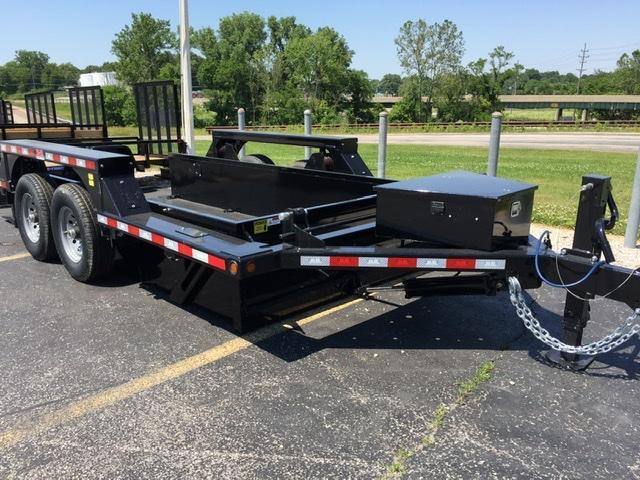 2020 B-B Drop Down Equipment Trailer