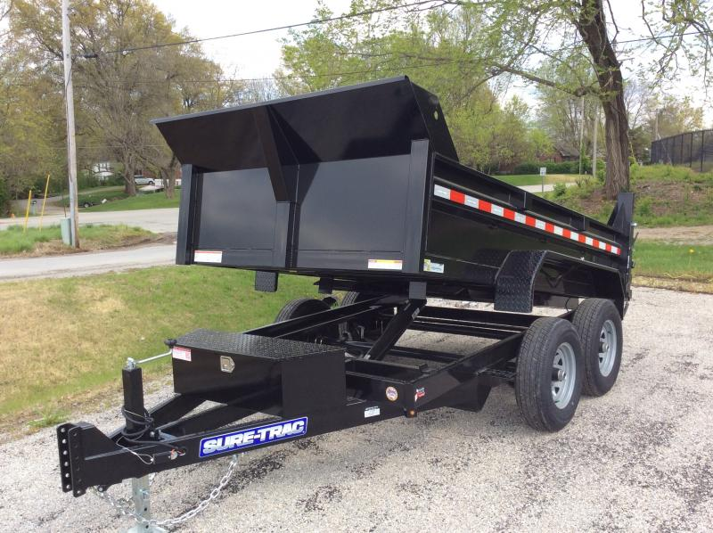 2021 Sure-Trac 6 x 10 SD Low Profile Dump Trailer  10K