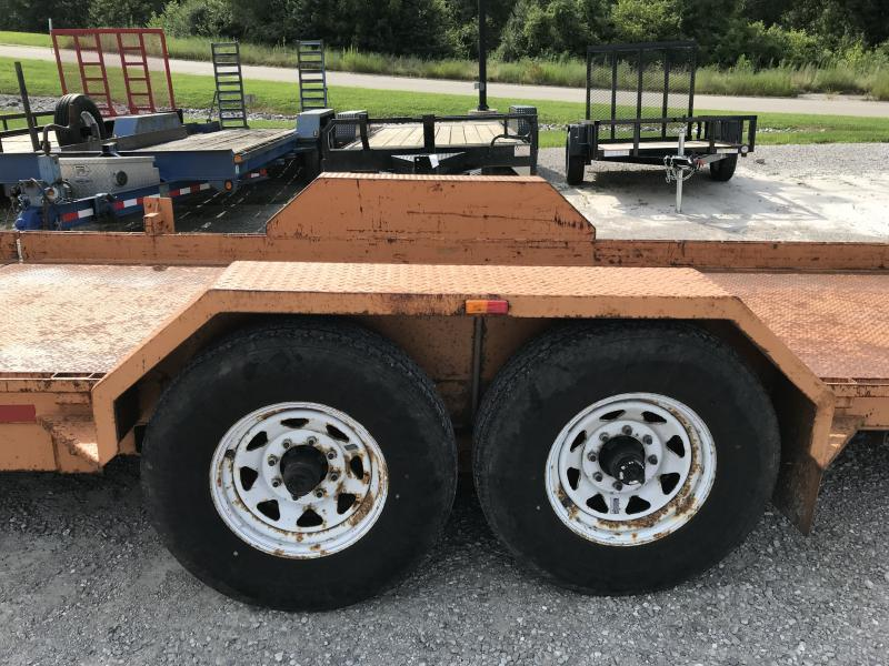 2005 Imperial Tilt Equipment Trailer