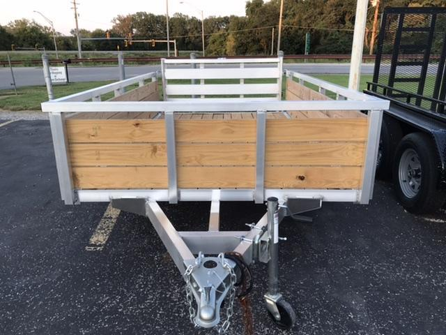 2021 Sure-Trac 6X10 3 BOARD SIDE Utility Trailer