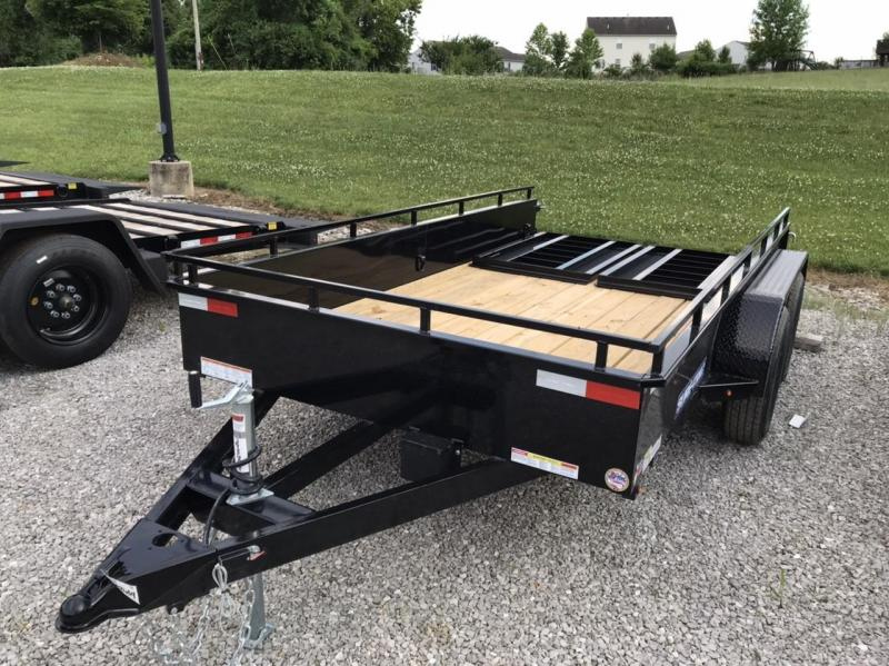 2020 Sure-Trac 6 X 12 Steel High Side  7K Tandem