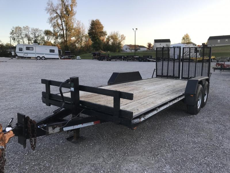 1998 CornPro 18' Flatbed Equipment Trailer