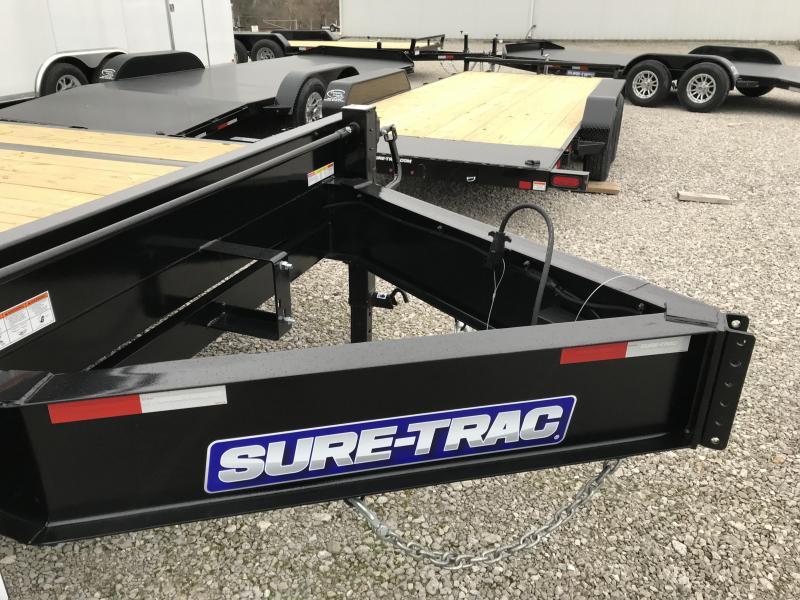 2020 Sure-Trac 8.5x20+5 LowPro Deckover Tandem BP 15K