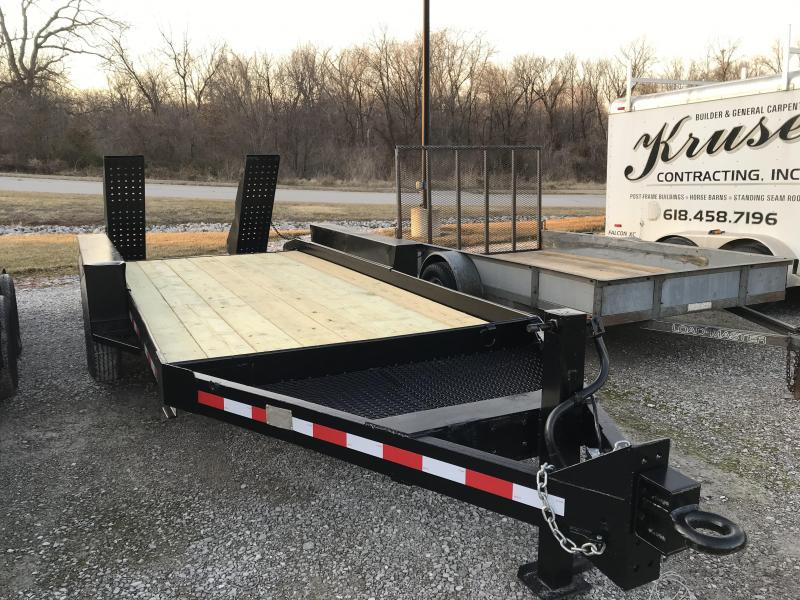 1985 Belshe 14+2 Equipment Trailer
