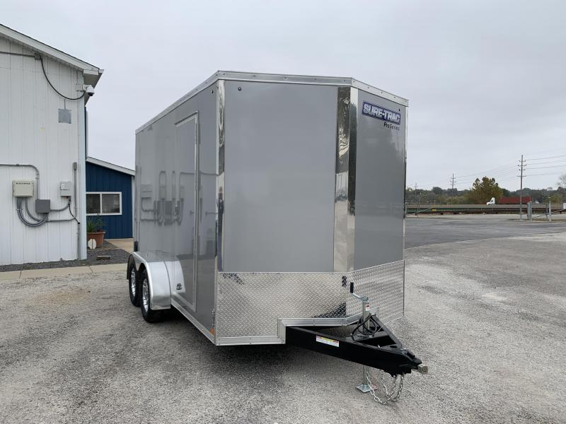 2021 Sure-Trac 7 x 14 Pro Series Enclosed Wedge Cargo T