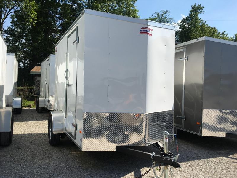 2019 American Hauler Industries Night Hawk 6 x 10 Enclosed Cargo Trailer