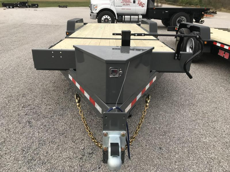 2021 B-B 83x22 Tilt Bed Equipment Trailer