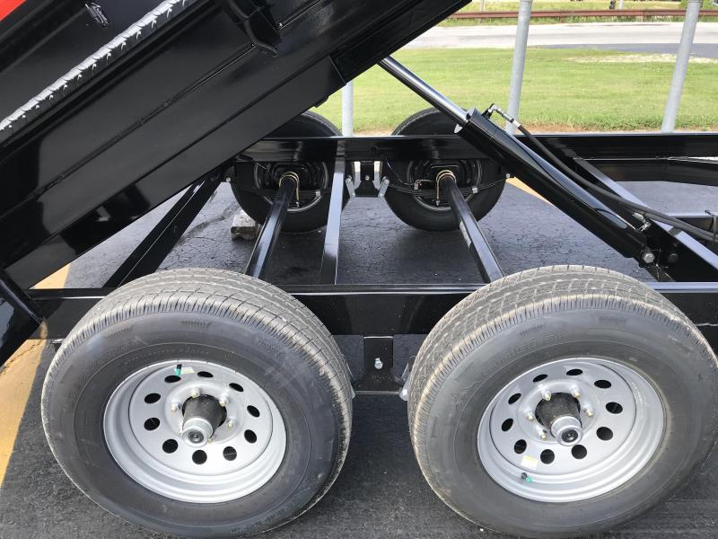 2021 Sure-Trac 6 x 12 SD Low Profile Dump Trailer  10K