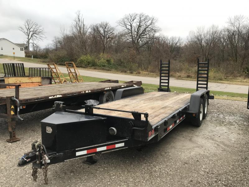 2013 B-B 83x20 Equipment Trailer