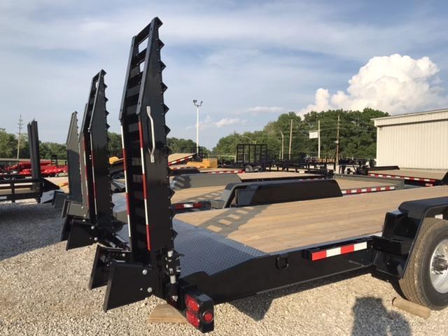 2020 B-B Skidloader Equipment Trailer 22'