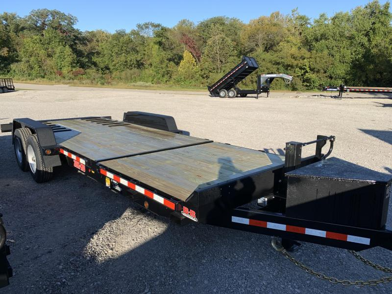 2021 B-B 83x22 Tilt Equipment Trailer
