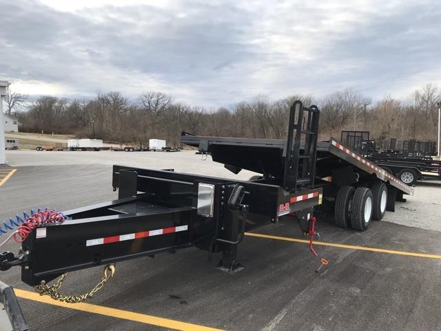2021 B-B 4+24 Tilt Equipment Trailer
