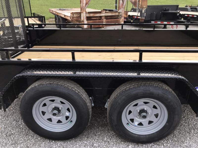 2020 Sure-Trac 6 X 12 Steel High Side  7K Tandem