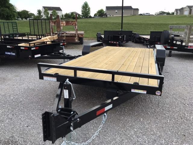 2021 Sure-Trac 7 x 18 Equipment Trailer  10K