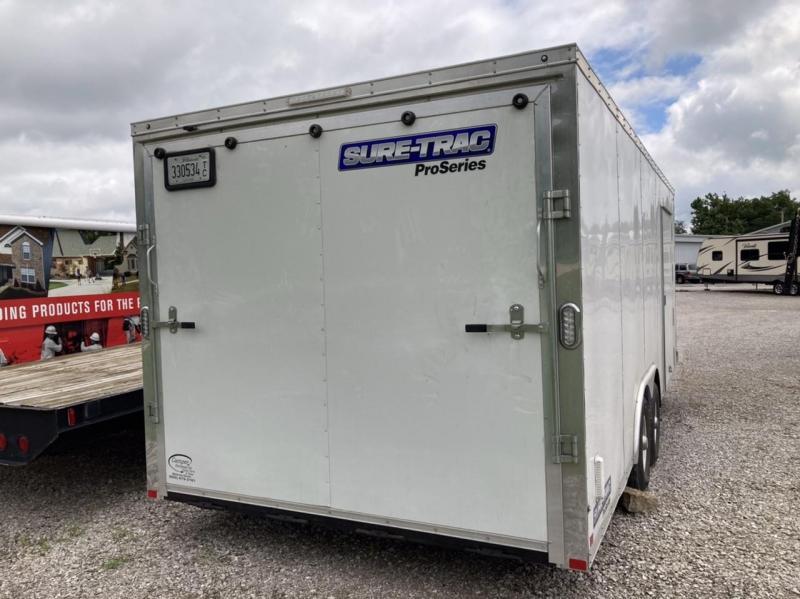 2017 Sure-Trac 8.5 X 20 Enclosed Cargo Trailer