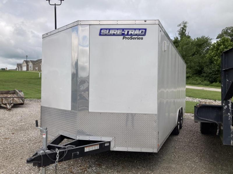 2017 Sure-Trac 8.5 X 20 Enclosed Cargo Trailer