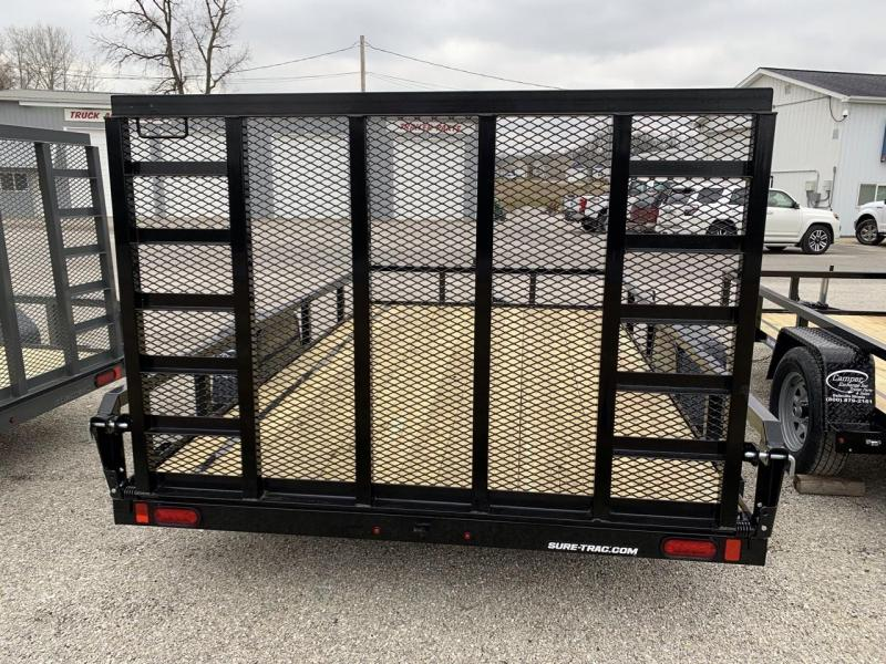 2021 Sure-Trac 7 x 12 Tube Top Utility Trailer  3K Idle