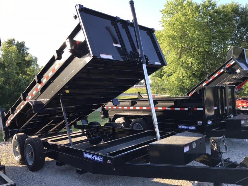 2021 Sure-Trac 82 IN X 16 LP 16K Telescopic Dump