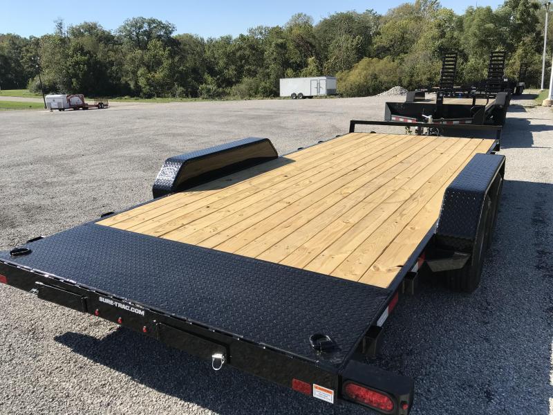 2022 Sure-Trac Car Hauler Flatbed Trailer