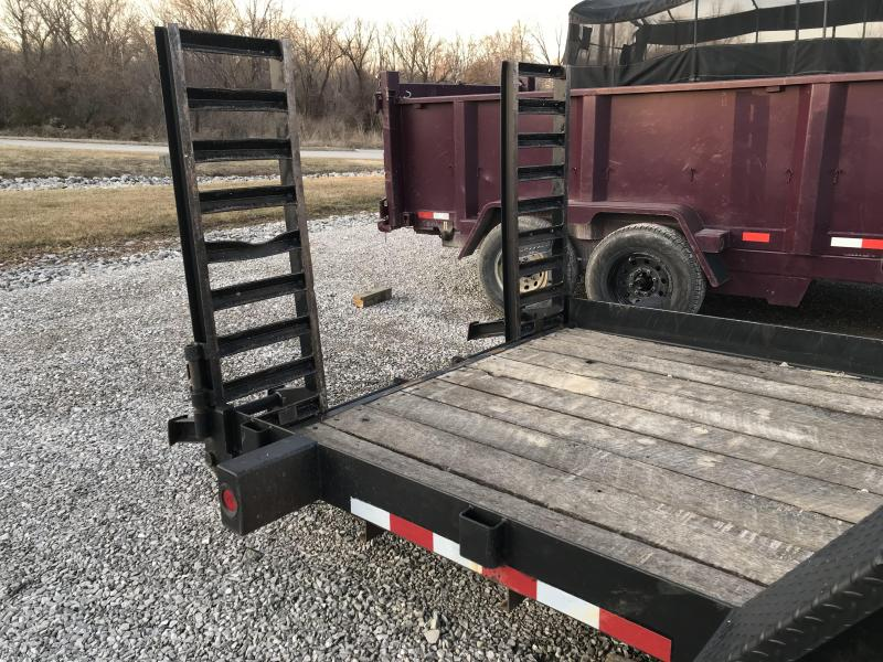 2005  Brooks Brothers 22' Equipment Trailer