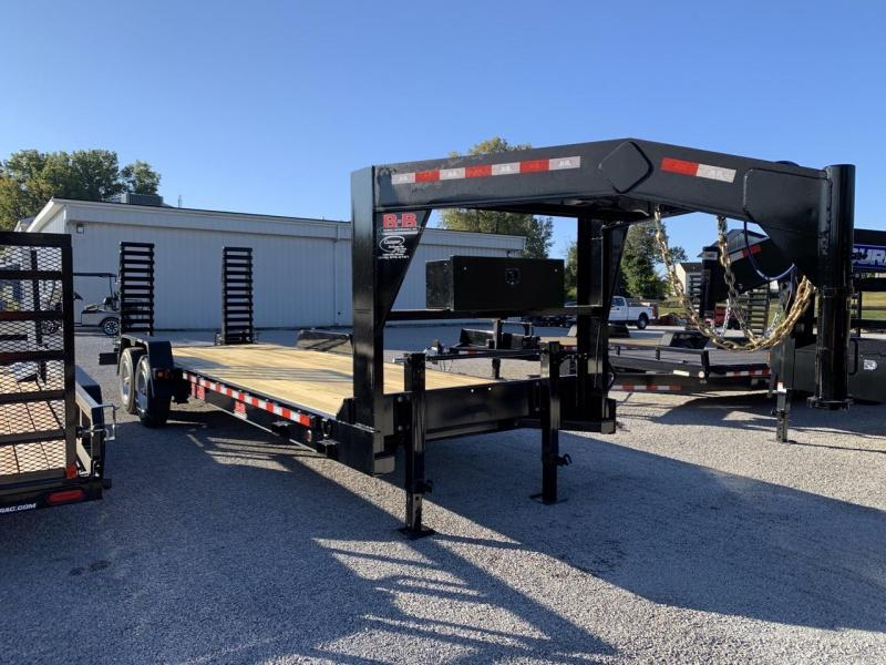 2021 B-B 83x24 Gooseneck Equipment Trailer