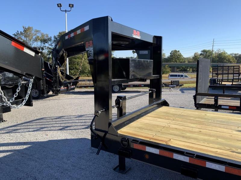 2021 B-B 83x24 Gooseneck Equipment Trailer