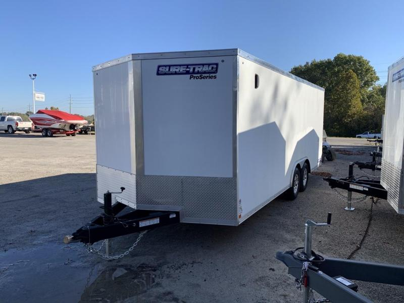 2021 Sure-Trac 8.5x20 Car / Racing Trailer