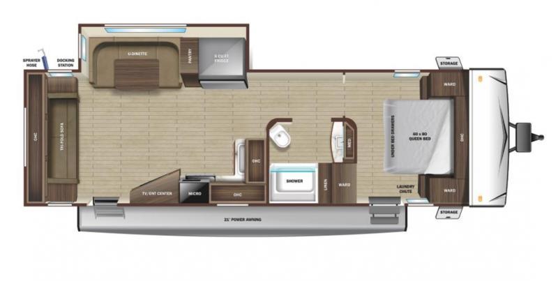 2022 Highland Ridge Range Lite 262RL