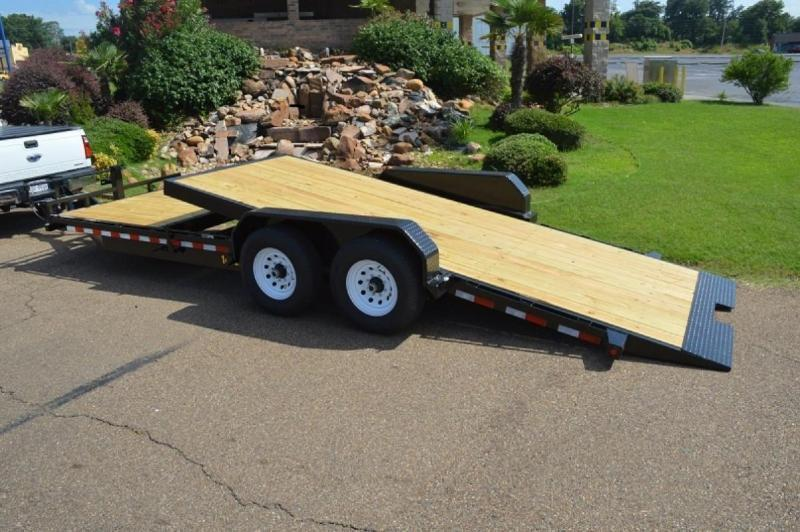 Big Tex Trailers 14TL-20' Equipment Trailer 16' TILT Deck